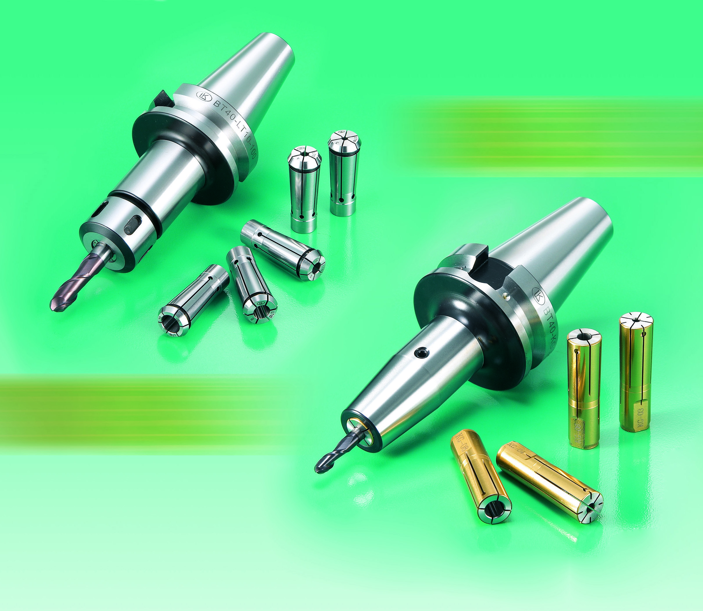 High speed collet chuck
