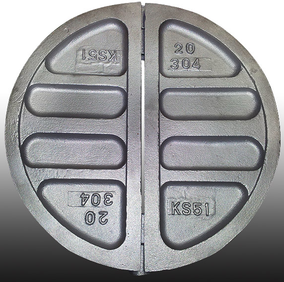 Butterfly Valve Disc Stainless Stee