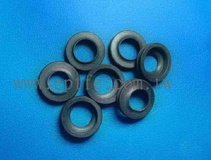 Compound PTFE lip ring